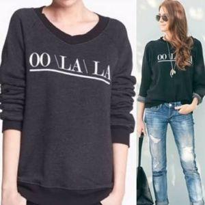 Wildfox OOH LA LA OO\LA\LA pullover sweatshirt